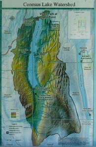 Lake Conesus Inlet, May 30 2021