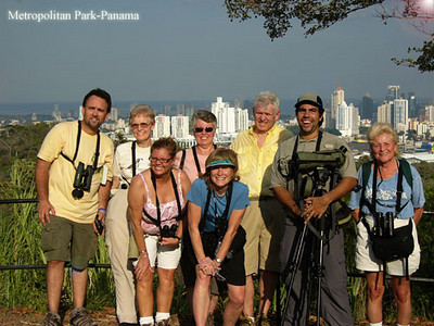 Birders from Florida at the Metropolitan Nature Park