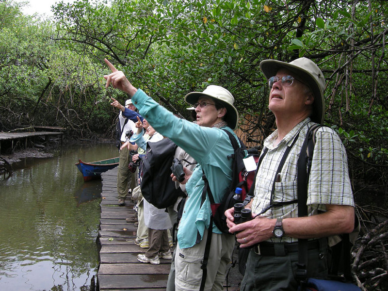 Naturalists in Bocas del Toro