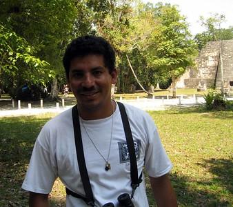 Tikal Guide - Carlos