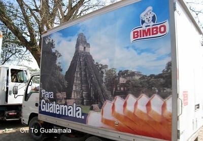 Guatemalan Bread Truck
