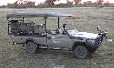 Kwando Camp vehicle