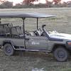 Kwando Camp vehicle