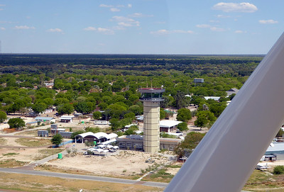 Taking off from Maun