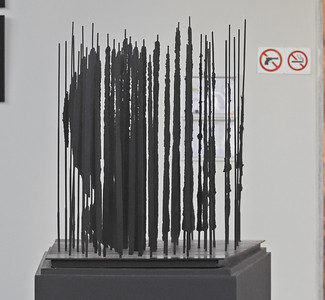 Miniature version of Mandela Sculpture