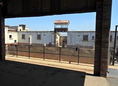 Constitution Hill Prison Complex remains