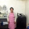 Solange in her kitchen