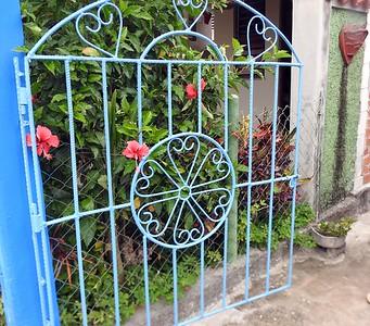 Good use of rebar to make nice gates