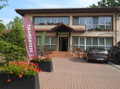 A one night stay in Bucharest upon arrival.