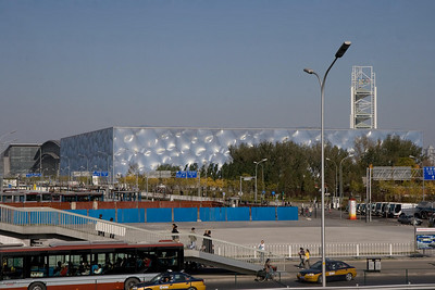 Beijing Olympic Swimming Complex, Beijing, China (11-4-08)