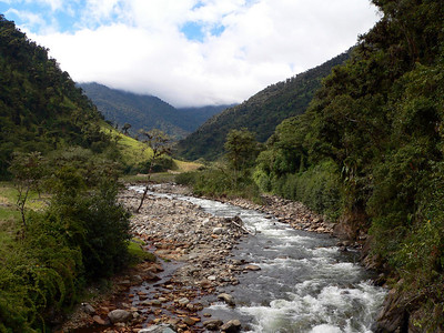 Papallacta River at Guango Lodge