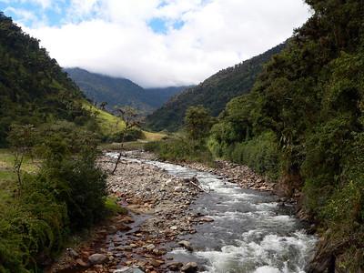 Papallacta River at Guango Lodge