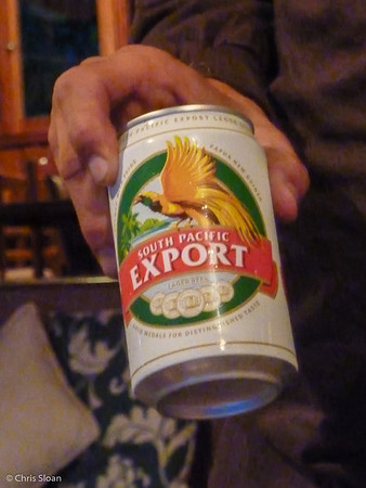 South Pacific Beer, Ambua Lodge, Papua New Guinea (10-03-2013)