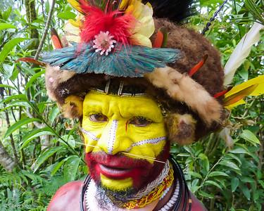 Huli Wigman near Ambua Lodge, Papua New Guinea (10-05-2013)