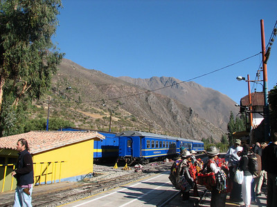 Train Station at Ollantaytambo, Peru (2008-07-05)