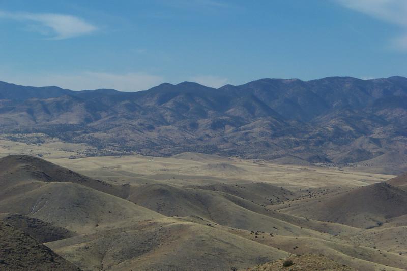 View from Chupadera Peak
