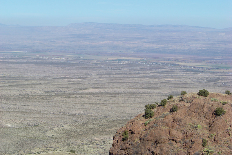 View from Chupadera Peak