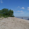 Lake Erie and the beach.  May, 2010