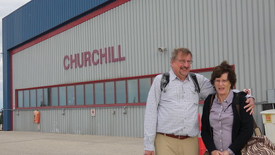 Gordon & Barb arrive at Churchill