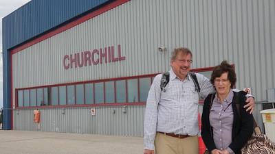 Gordon & Barb arrive at Churchill