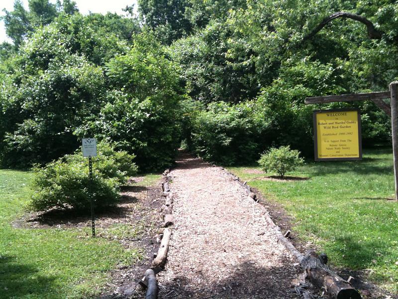 Tower Grove Park <br /> Robert and Martha Gaddy <br /> Wild Bird Garden <br /> <br /> Taken with SmugShot on my iPhone