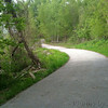 This is where I went off trail to get close to the water. <br /> Looking North towards trail entrance<br /> Bridgeton Riverwoods Park and Trail