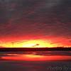 Sunset over Teal Pond <br /> Riverlands Migratory Bird Sanctuary