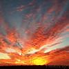Sunset at<br /> Riverlands Migratory Bird Sanctuary