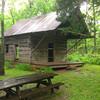 Thomas Brown cabin <br /> Falling Spring Mill