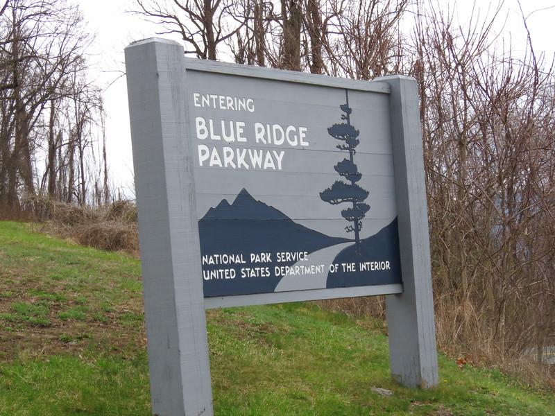 Blue Ridge Parkway <br /> Skyline Drive Virginia <br /> 4/03/15