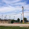 Handball courts with nest pole <br /> Bridgeton Municipal Athletic Complex (BMAC) <br /> Bridgeton, Missouri