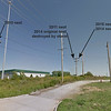 "Western Kingbird nests at electrical substation  <br> Fee Fee Road just South of McDonnell Blvd.  <br> Hazelwood, Missouri  <br> (Google Streetview) <br> <a href=""/Birds/2014-Birding/Birding-2014-June/2014-06-30-Misc-Areas/i-W4d9fpz"">2014 nest photos</a> <a href=""/Birds/2011-Birding/Birding-2011-May/2011-05-31-WEKI-Bridgeton-Area/i-mzSBvrB"">2011 nest photos</a>   <a href=""/Birds/2010-Birding/Birding-2010-July/2010-07-02-WEKI-CBCA/i-SDbW8cx"">2010 nest photos</a>"