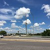 Western Kingbird nest (originally found 6/18/16) <br /> Nest on this end of double cross member about 65% up pole <br /> Intersection of Earth City Expressway and St. Charles Rock Road <br /> Bridgeton, MO
