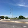 New Western Kingbird nest (two WEKI)<br /> Intersection of Earth City and St. Charles Rock Road <br /> Bridgeton, MO