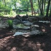 New water feature replacing old bubbler <br /> Gaddy Garden, Tower Grove Park <br /> St. Louis, MO <br /> 5/22/16