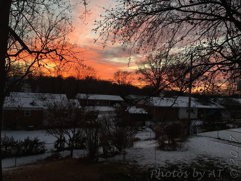 Out a back window <br /> Bridgeton, MO <br /> 2017-12-27