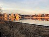 """Alton, Illinois at sunset <span class=""""spacer_LB_caption""""> • </span> <br> View from Lincoln Shields Area <span class=""""spacer_LB_caption""""> • </span> <br> Mississippi River <span class=""""spacer_LB_caption""""> • </span> <br> Riverlands Migratory Bird Sanctuary <br> St. Charles County, Missouri <br>"""