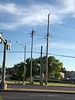 """St. Charles Rock Road and McKelvey Road <span class=""""spacer_LB_caption""""> • </span> <br> Two Western Kingbirds seen here  <span class=""""spacer_LB_caption""""> • </span> <br> 2nd highest pole across street"""