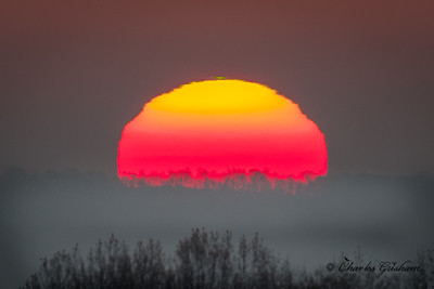 Sunrise atop Monte Sano Mtn...note the green flash!
