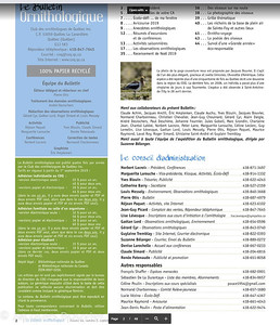2019 Le Bulletin ornithologique du COQ 1