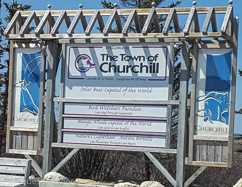 A - Churchill on Hudson Bay
