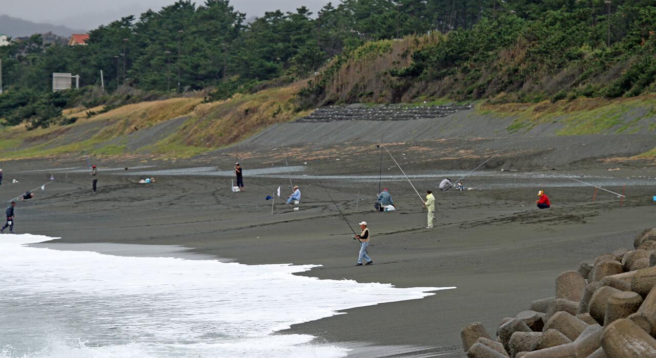 Terugasaki Beach, Oiso Town<br /> <br /> Beach and Ocean Environment<br /> <br /> Oct 7, 2013