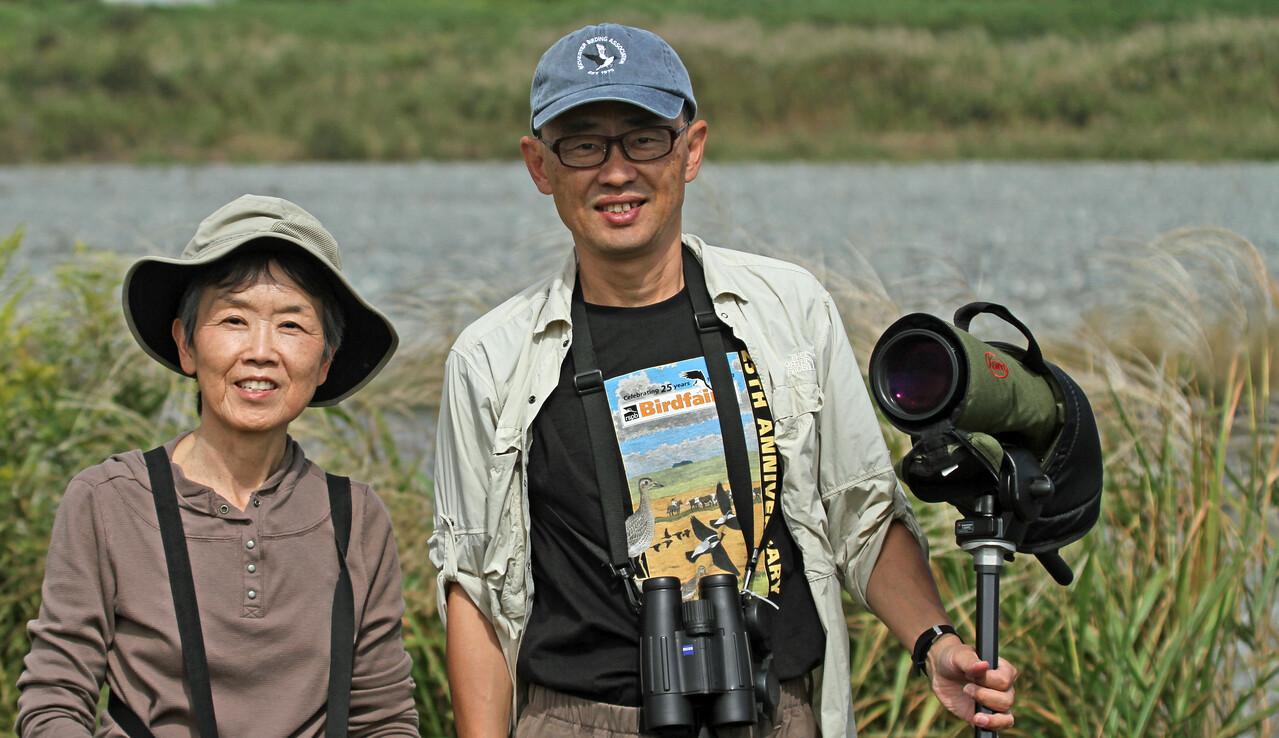 Birding in Japan<br /> <br /> Kaz Shinoda - Birding Guide<br /> <br /> Dick and Karen Yamasaki<br /> <br /> Oct 7, 2013