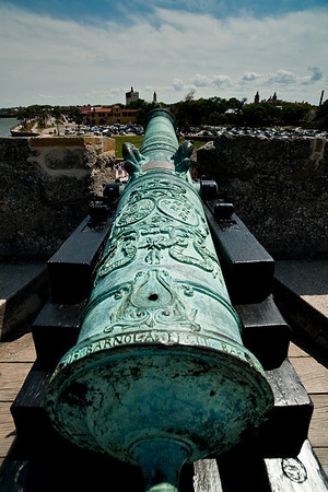 Castillo de San Marcos cannon