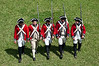 British infantry reinactment, Castillo de San Marcos parade grounds
