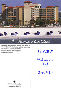 Sheraton Sand Key Resort (Clearwater) postcard.