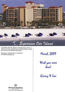 Sheraton Sand Key Resort (Clearwater) postcard.