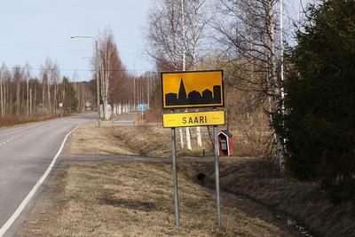 Parikkala Saari  Tuttu paikka KarPr:n vuoden 1993 sotaharjoituksista