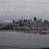 San Francisco from Hawk Hill in the Marin Headlands