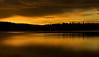 Sunset Lac le Jeune, British Columbia